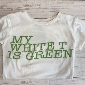"""Go Green"" Graphic Tee"